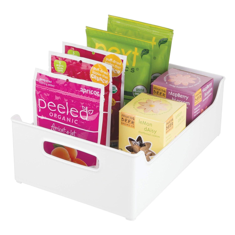 InterDesign Refrigerator and Freezer Storage Organizer Bins for Kitchen - 10