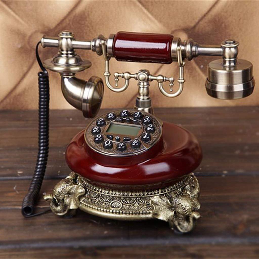 CN Kreativer Kontinentaler Kontinentaler Kontinentaler Weinlese-Retro- antiker Druckknopf-Festnetz schnurgebundenes Telefon für Innenministerium B07JM9KRPK   Modisch  0c3d9f