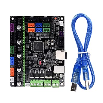 KINGPRINT NEW 3D Printer Control Board MKS BASE Development Board V1.5 Board RepRap Ramps1.4 Compatible