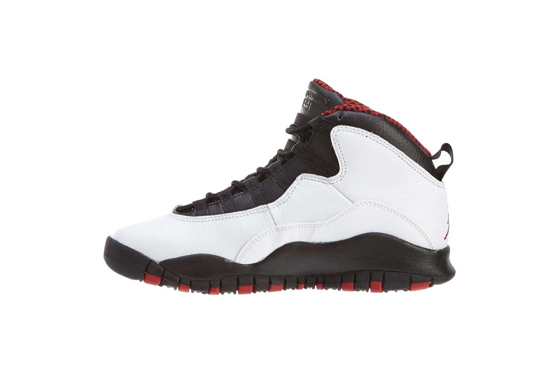 Amazon.com | Nike Air Jordan 10 Retro Big Kids Style: 310806-100 Size: 3.5  Y US | Basketball