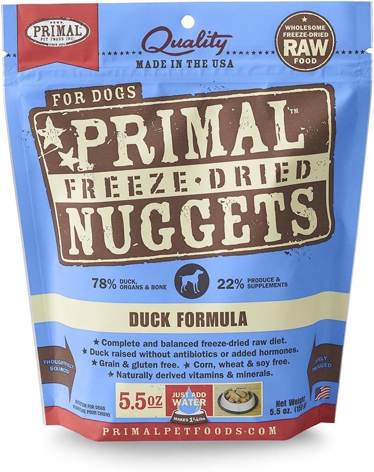 Primal Pet Foods Canine Freeze Dried Duck Formula