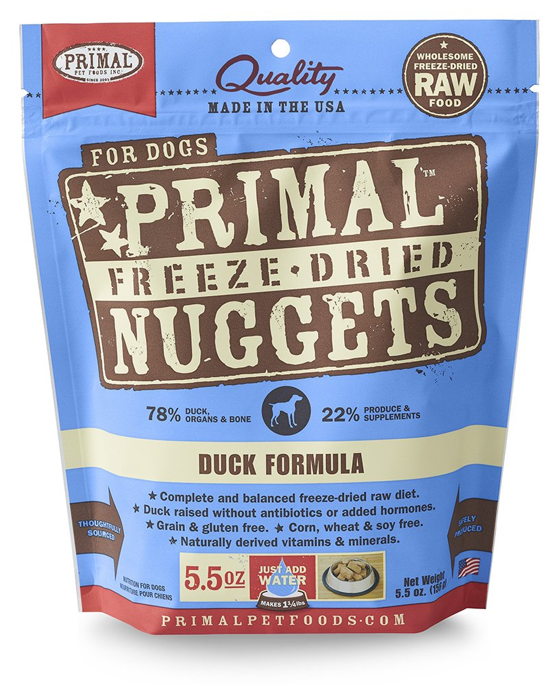 Primal Pet Foods Freeze-Dried Canine Duck Formula 5.5 oz