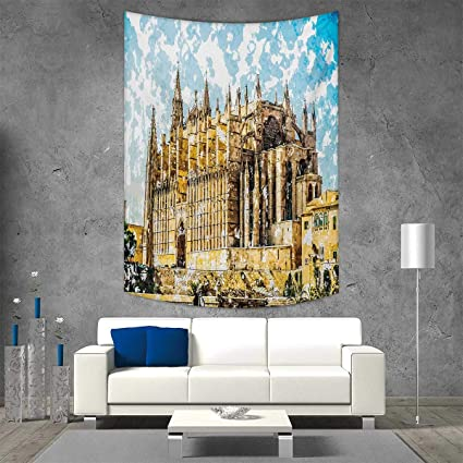 Amazon.com: smallbeefly Gothic Home Decorations Living Room ...