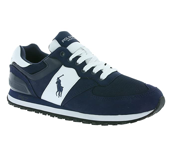 many styles where can i buy website for discount Buy Ralph Lauren Men's Polo Sport Slaton Pony Trainers NEWPORT ...