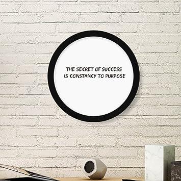 Amazoncom Slogan The Secret Of Success Is Constancy To Purpose