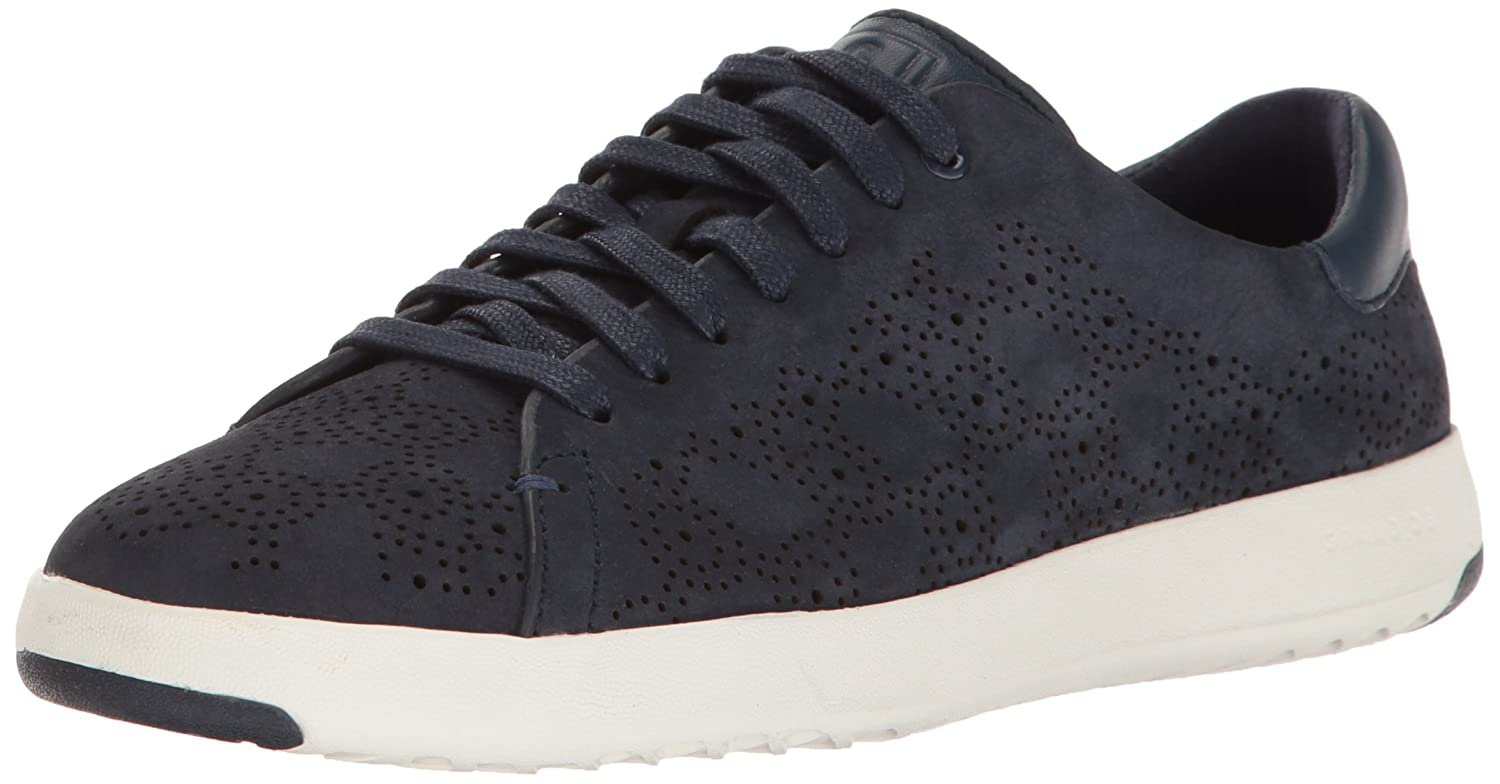 Cole Haan Women's Grandpro Paisley Perforated Fashion Sneaker B01N35CMTZ 5 B(M) US|Marine Blue