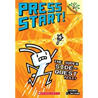 The Super Side-Quest Test!: A Branches Book (Press Start! #6) (6)
