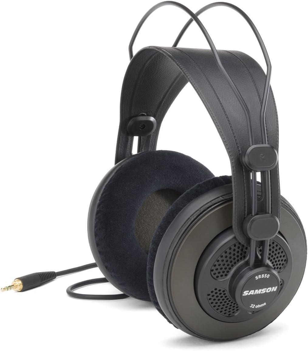 Samson SR850 Semi-Open Back Studio Reference Headphones