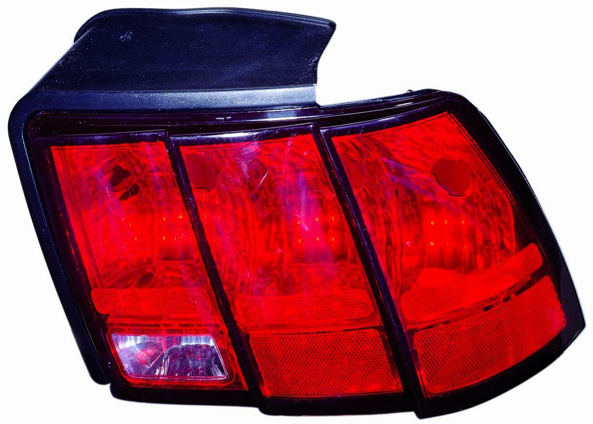 Depo 331-1958R-UC Ford Mustang Passenger Side Replacement Taillight Unit without Bulb