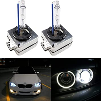 One D1S 4300K 35W Factory Fitted Xenon HID OEM Replacement Bulb white Light