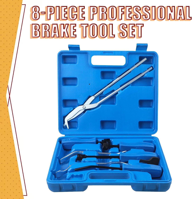 AEagle 8-Piece Drum Brakes Service Repair Tool Spring Compressor