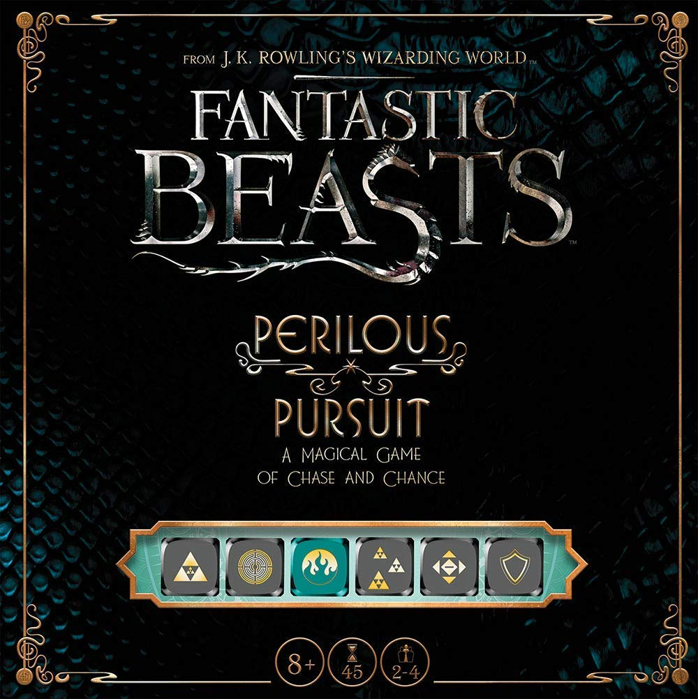 USAopoly Harry Potter Fantastic Beasts and Where to Find Them Perilous Pursuit Brettspiel - Englisch