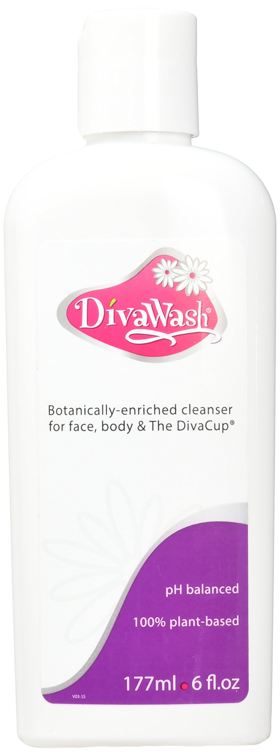 Divacup Divawash? Natural Divacup Cleaner 6 Fl Oz (Pack of 2)