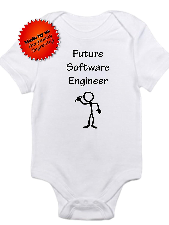Future software engineer gerber onesie cute baby bodysuit