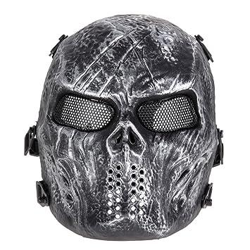 Amazon.com: Máscara de esquí para Halloween, máscara de ...