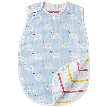 1a1a43bba1824 スリーパー 綿100% 6重ガーゼ ベビー キッズ 赤ちゃん コットン 柔らかい 寝冷え防止 男の子 女の子