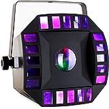 Ibiza LED-Combomoon Projecteur à effets Noir