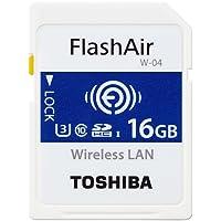 Toshiba THN-NW04W0160E6 16GB FlashAir W-04 Wireless SD Karte