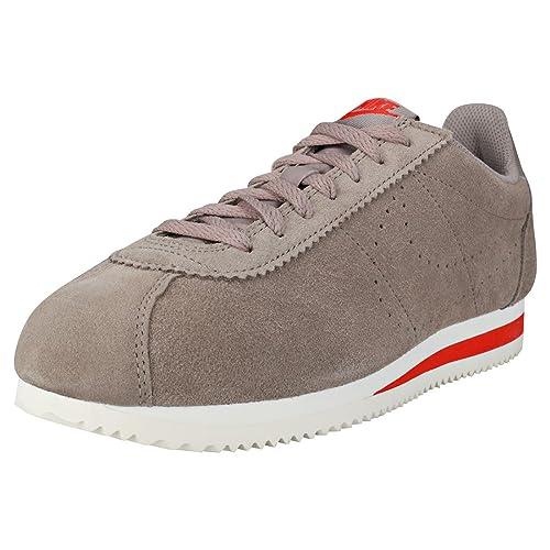 Zapatilla Nike - Classic Cortez Suede Sepia Stone Hombre 42,5: Amazon.es: Zapatos y complementos