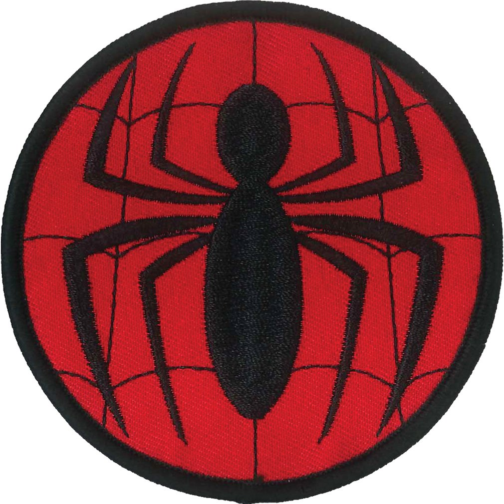 Ata-Boy Marvel Comics Spider-Man Logo 3 Full Color Iron-On Patch Inc. 61003MV