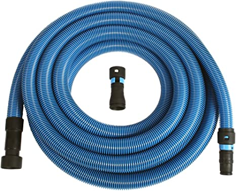 Amazon Com Cen Tec Systems 94522 Antistatic Wet Dry Vacuum Hose For Shop Vacs With Universal Power Tool Adapter Set 30 Ft Blue Home Kitchen