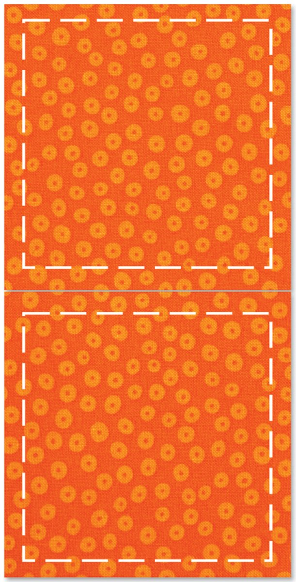 AccuQuilt Go Fabric Cutting Dies, 5-Inch, Square 550-10