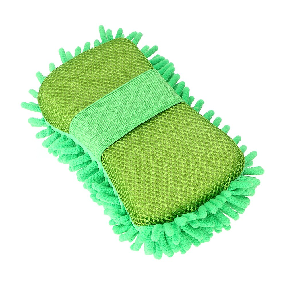 Car Washer Green Car Accessories Cleaning Tool Car-styling Auto Care Cleaning Washing Gloves