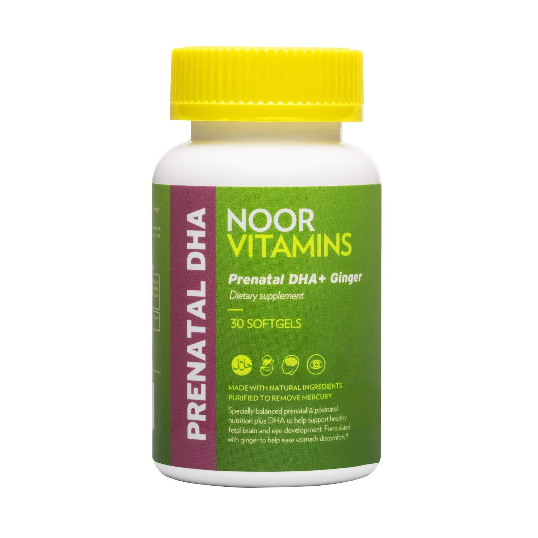 NoorVitamins Prenatal with DHA – 30 Softgels – Halal Vitamins 2 Pack