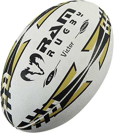 Partido internacional de Rugby pelota de Rugby Ram - tamaño 5 ...
