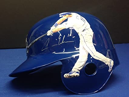 dbeddd43390 Andre Ethier Signed Hand Painted Rawlings Authentic Dodgers F S ...