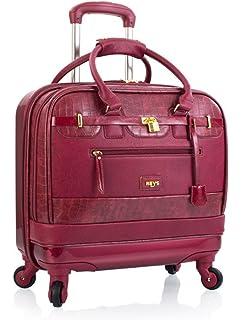 02643aa7b8802 Aktenkoffer mit Rollen Damen Business Trolley von Heys Marsala Rot Bowatex