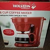 Amazon.com: Holstein Houswares HH-0914701 cafetera eléctrica ...