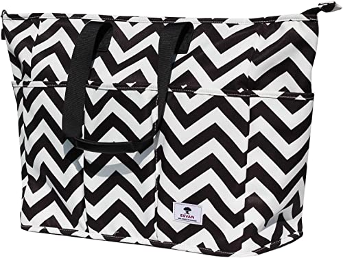 Women Ladies Weekender Bag Muti-pockets Overnight Carry-on Duffel Travel Gym Tote Luggage Duffle with Trolley Sleeve