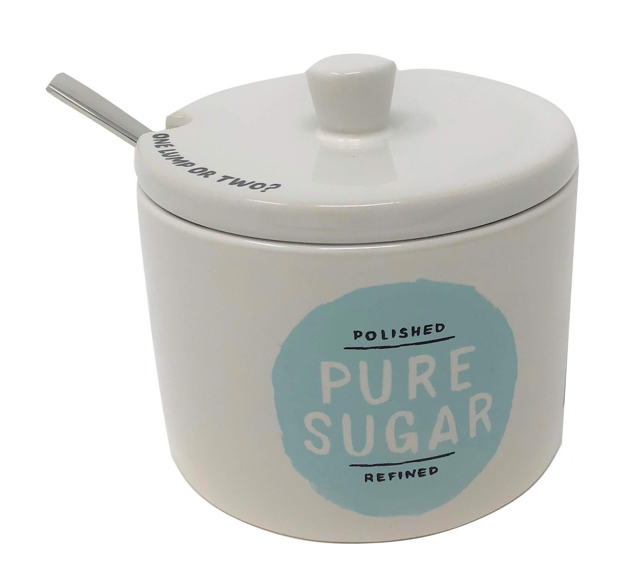 Kate Spade All In Good Taste Piping Hot Sugar Bowl