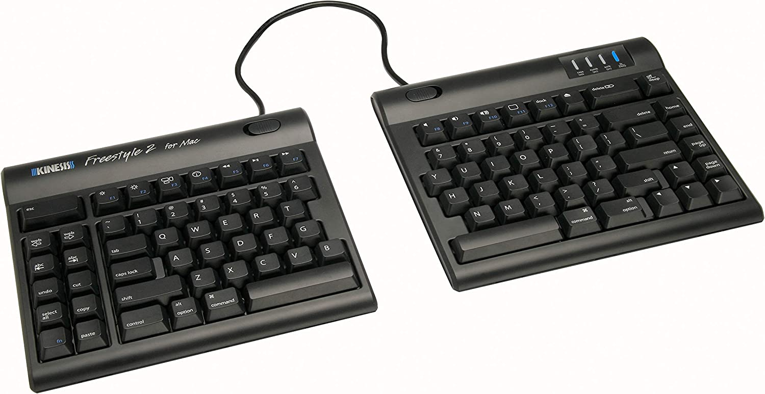 "Kinesis Freestyle2 Keyboard for Mac (9"" Standard Separation)"