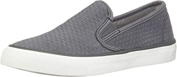 Sperry Top-Sider Seaside Suede Sneaker Women 7.5 Grey