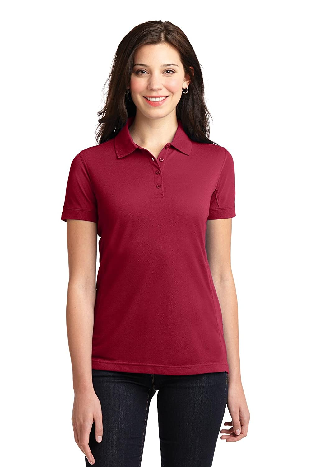 Port Authority Womens 5in1 Performance Pique Polo