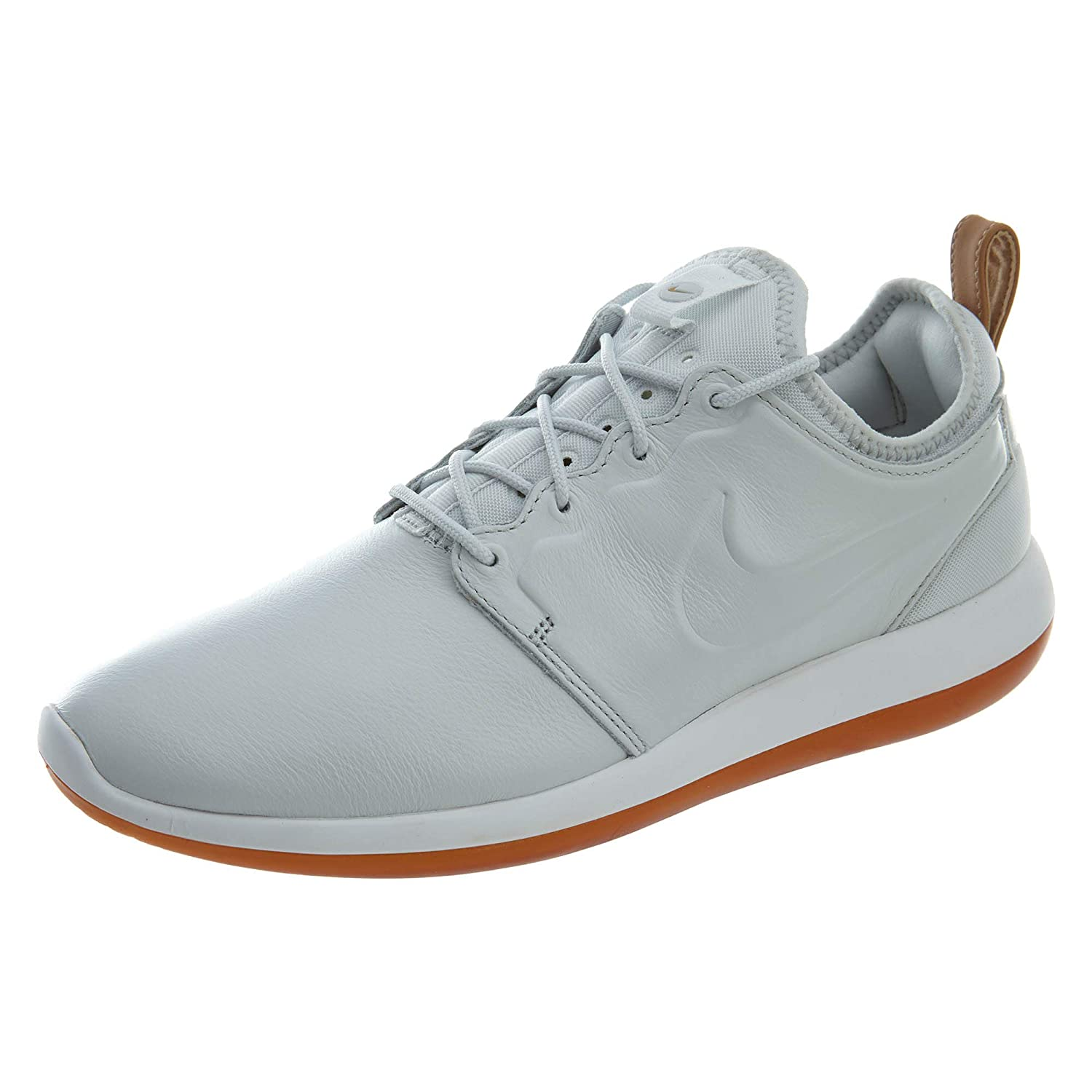 52fc3003e930d Nike Mens Roshe Two Leather Premium Shoes Off White White Gum 881987-100  Size 11.5  Amazon.co.uk  Shoes   Bags
