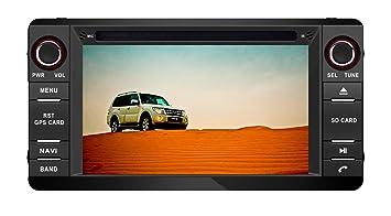 XTTEK 6.2 inch Touch Screen in Dash Car GPS Navigation ... on