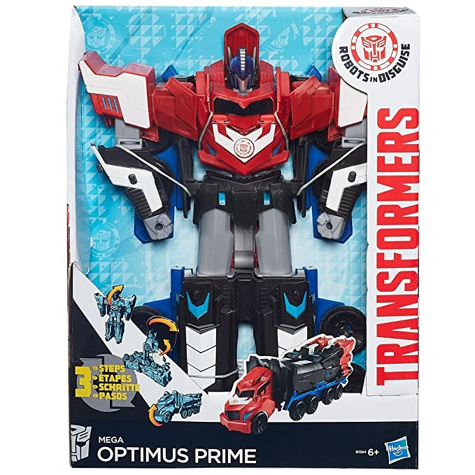 Transformers B1564eu4 Personaggio Mega Optimus Prime Amazonit