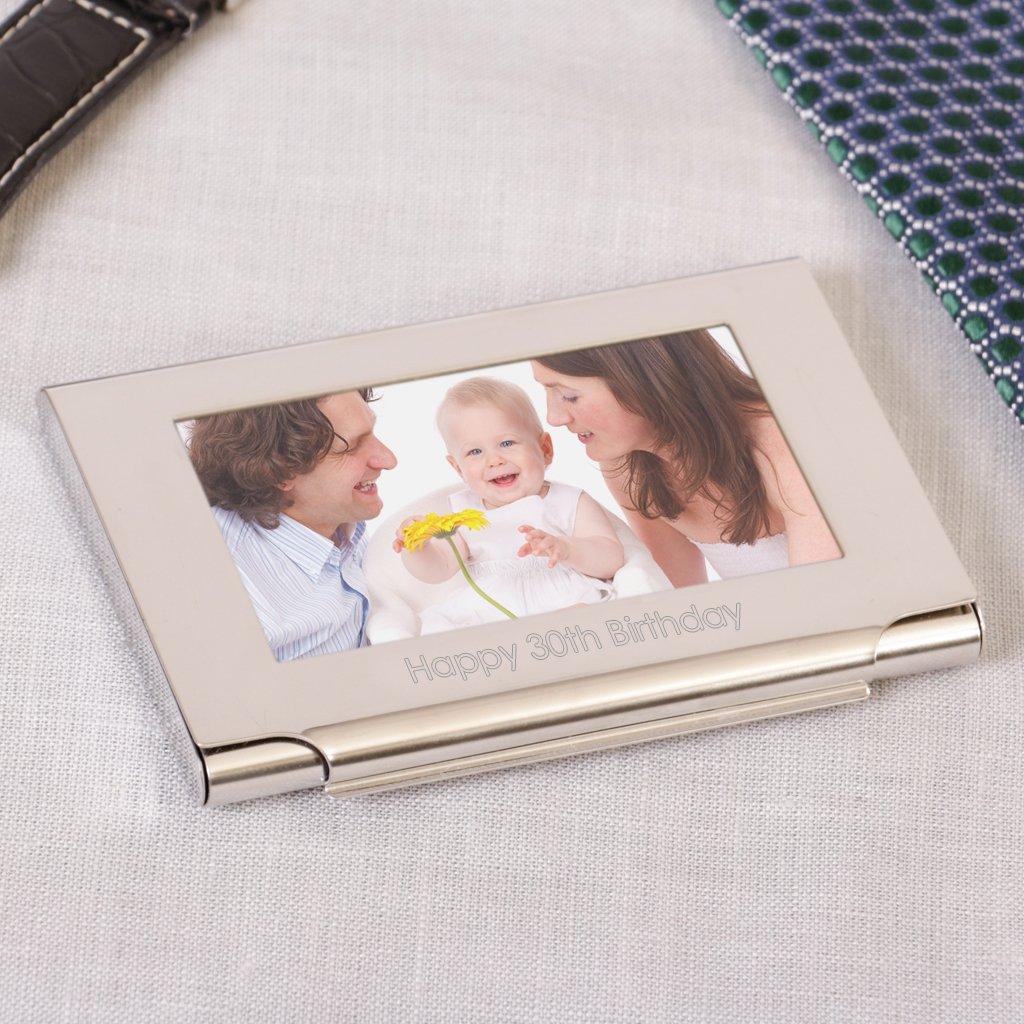 personalisierbar Business Kartenhalter mit Bilderrahmen – ein gratis ...
