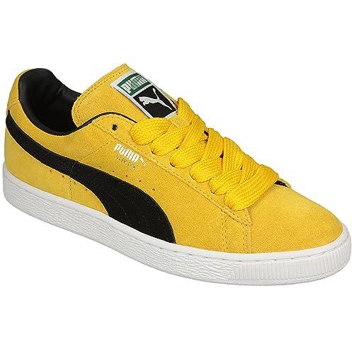 puma hombre amarillo