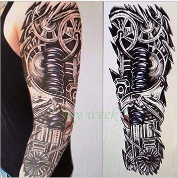 Tatuaje impermeable Totem Sticker Brazo completo: Amazon.es: Belleza