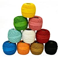 Embroiderymaterial Crochet Cotton Yarn Combo Pack