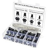 Aussel 2.5mm Emplacement 2 3 4 5 broches JST Connecteur SM Connecteur mâle et femelle Connecteur Adaptateur Kit Assortiment 560 Pièces