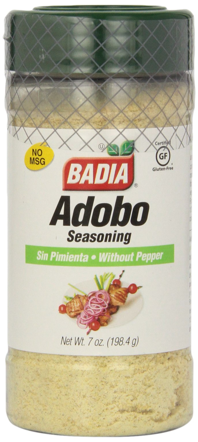Badia Adobo without Pepper, 7-Ounce (Pack of 12)