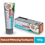 BIOMED SUPERWHITE Natural Toothpaste for Gentle Whitening and Strengthening of Sensitive Teeth 100g