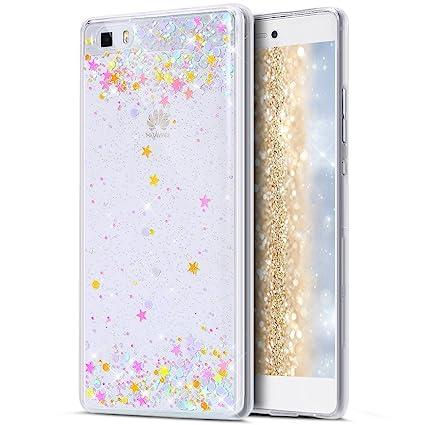 Amazon.com: Funda Huawei P8 Lite, Huawei P8 Lite Glitter ...