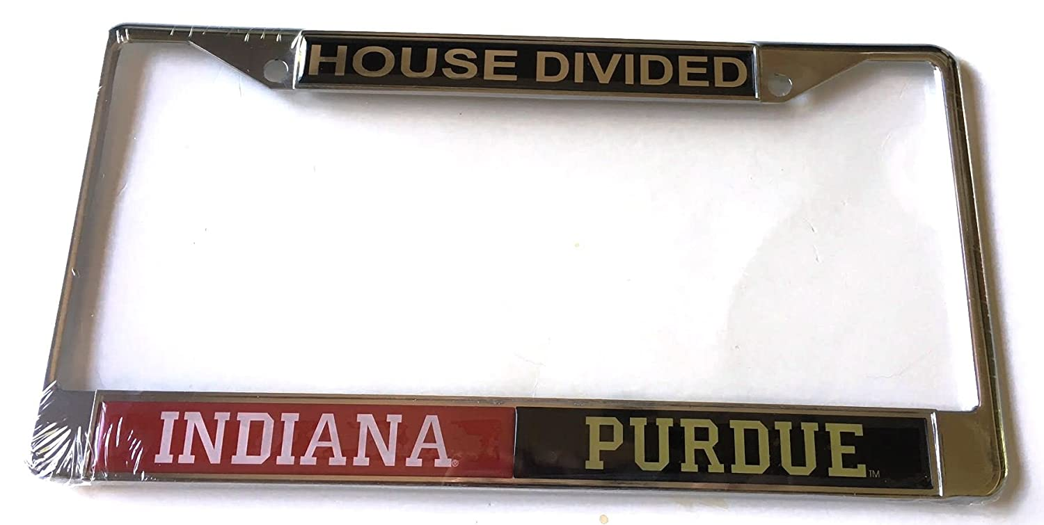 Amazon.com : Indiana Hoosiers - Purdue Boilermakers House Divided ...