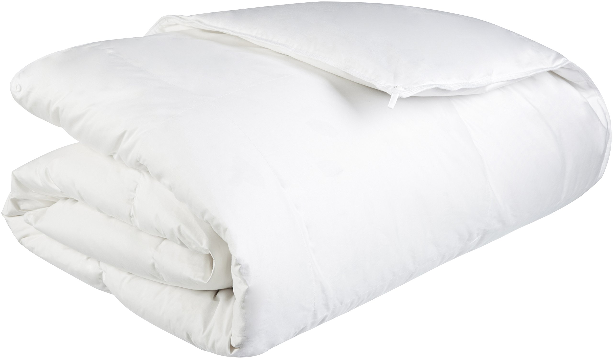 Pinzon Heavyweight Shed-Resistant White Down Comforter - King by Pinzon by Amazon
